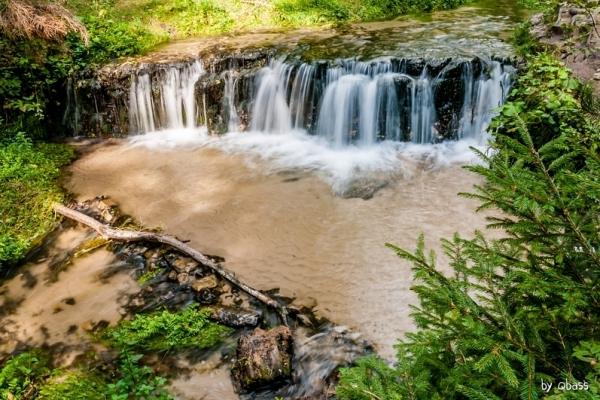 Susiec - Wodospad Jeleń nad Tanwią