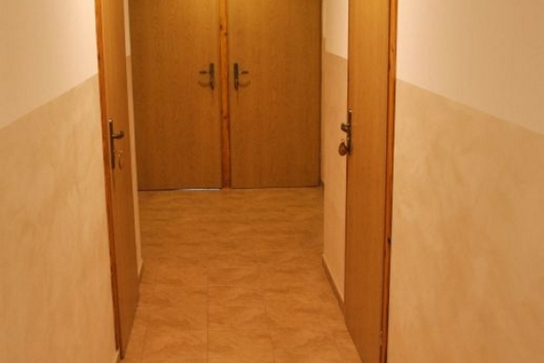 korytarz na 1 piętzre - pokoje nr 1, 2, 3, 4