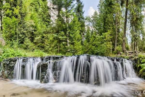 Susiec - Wodospad Jeleń