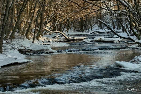 Susiec - Szumy progi skalne zimą