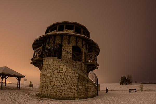 Susiec - wieża widokowa